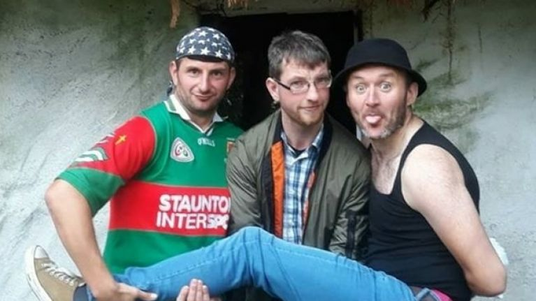 Three members of The Hardy Bucks set to embark on epic charity journey on foot across Ireland