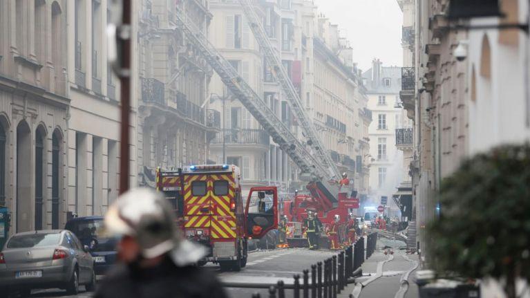 Four people dead, dozens injured in suspected gas leak explosion in Paris