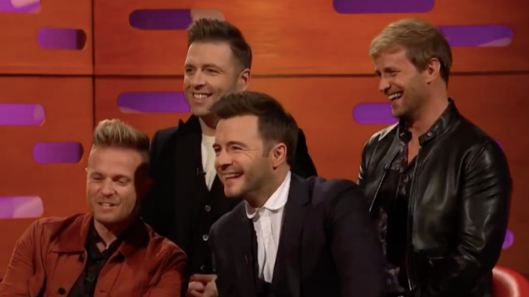 Liam Gallagher's first meeting with Westlife was very memorable