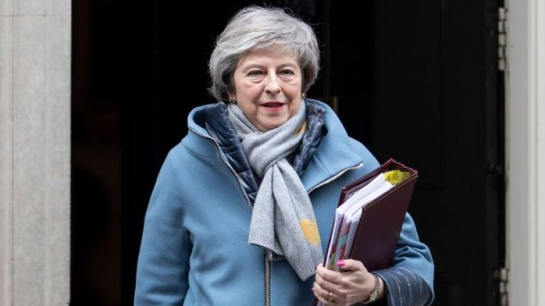 Theresa May's Brexit deal forecast to lose by landslide vote