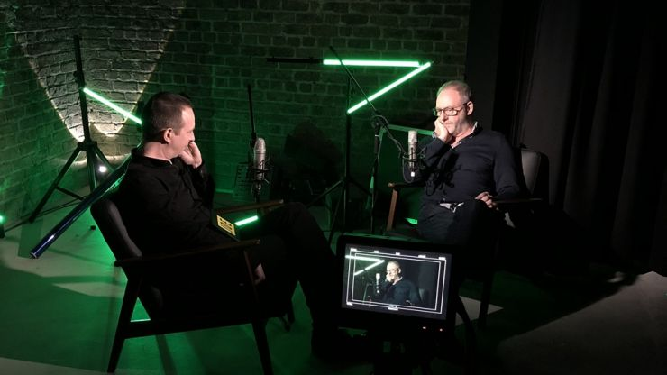 """For fuck's sake."" Liam Cunningham recalls his Dad's reaction to him leaving the ESB"