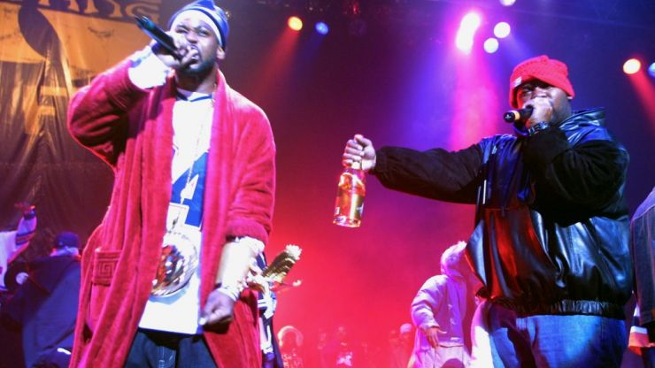 There's a new documentary about the Wu-Tang Clan and it looks excellent