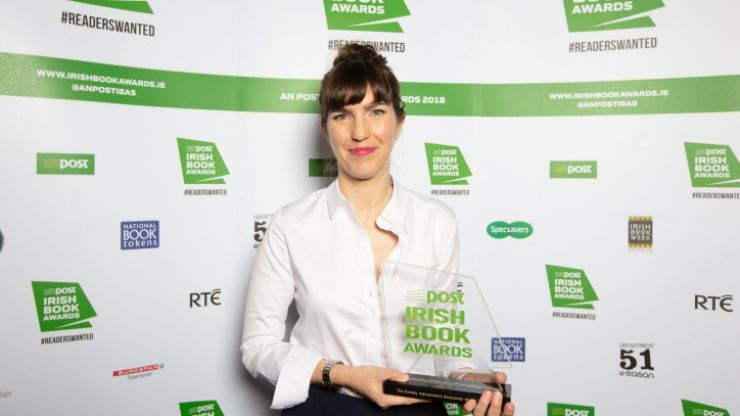 Notes to Self by Emilie Pine named as the An Post Irish Book of the Year 2018