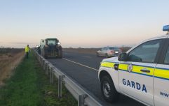 Gardaí stop tractor on the motorway for going too slow