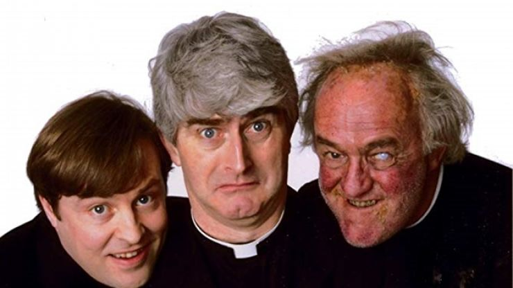 Father Ted musical takes step forward as creators bury the hatchet