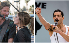 Bohemian Rhapsody, A Star is Born, and Irish-made film The Favourite all receive Oscar nominations