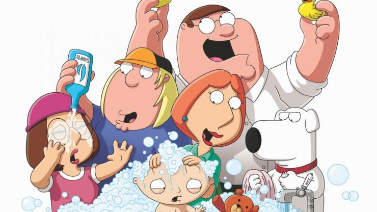 Seth MacFarlane fuels the flames of an upcoming Family Guy movie
