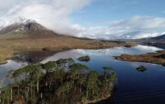 WATCH: Stunning drone footage of Connemara following recent snowfall