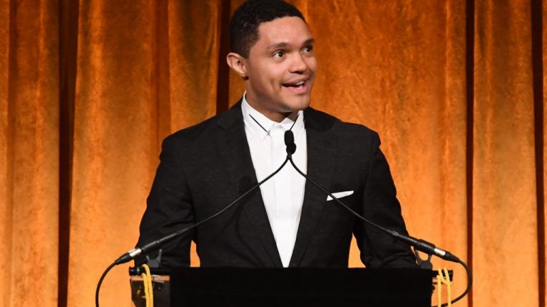 "WATCH: Trevor Noah says that Liam Neeson deserves credit for ""powerful admission"", following controversial comments"