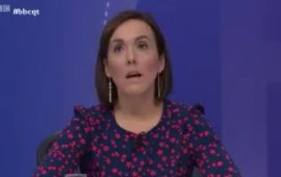 WATCH: There was a very strong reaction to this political reporter's Brexit statements on Question Time