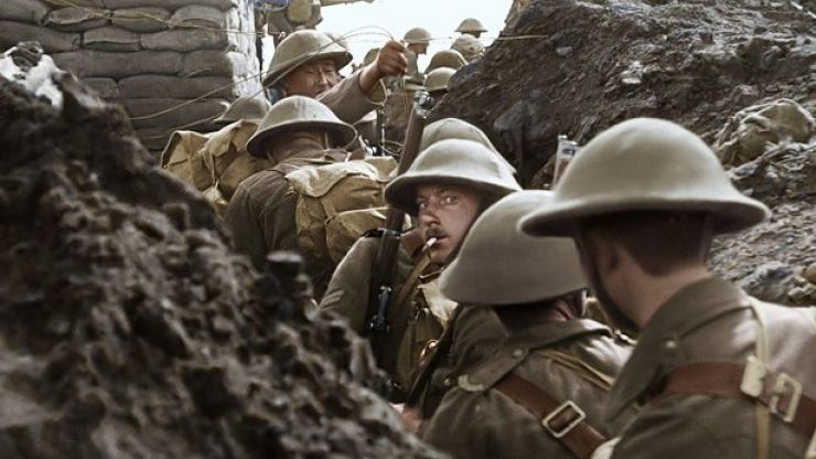 Peter Jackson's excellent World War I documentary is on TV tonight