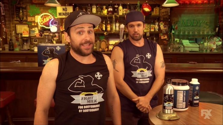 A crossover between It's Always Sunny and The US Office could be in the works