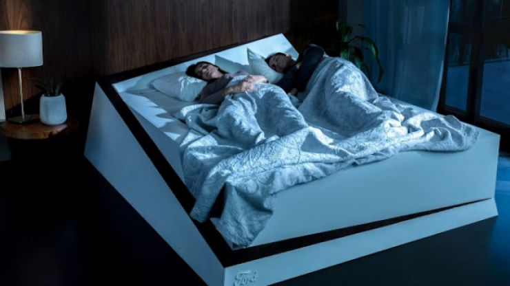 There are plans to create a bed that moves your partner back over to their side