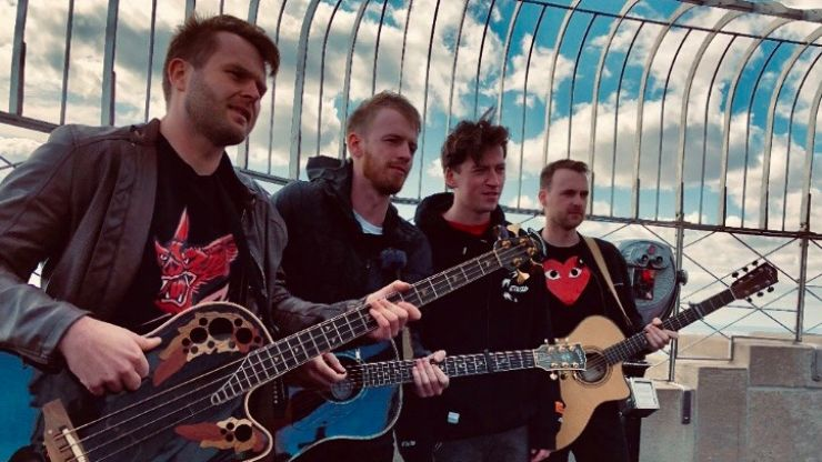 Picture This launch new album from the top of The Empire State Building