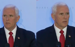 WATCH: Mike Pence waiting for applause in the most excruciating speech you'll ever see
