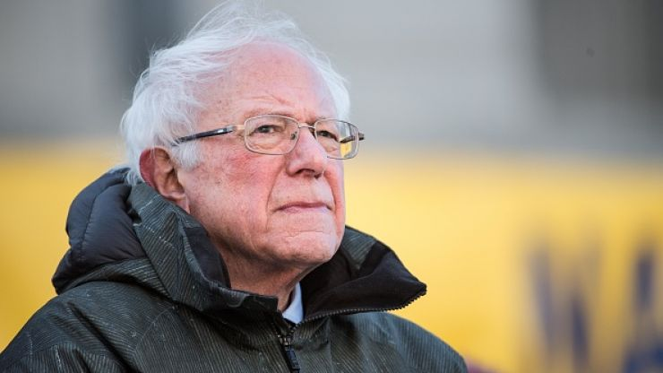 Bernie Sanders is using his inauguration meme to raise money for charity