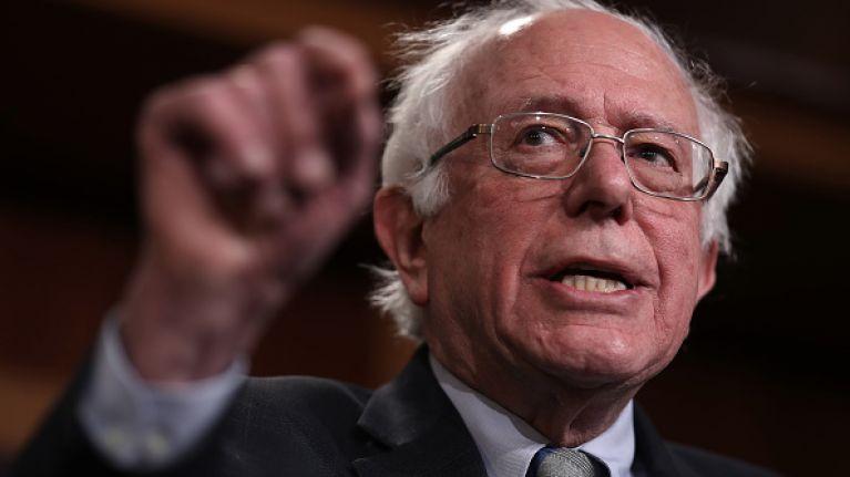 Bernie Sanders says he'll bring a lie detector when debating Trump