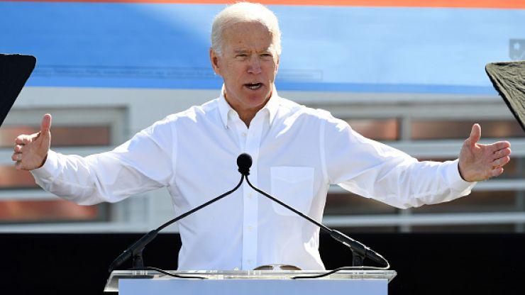 "WATCH: Joe Biden responds to claims he has made women feel ""uncomfortable"""