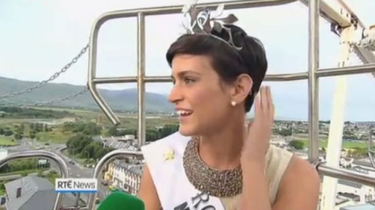 Former Rose of Tralee winner announces intention to run as an MEP candidate for Fine Gael