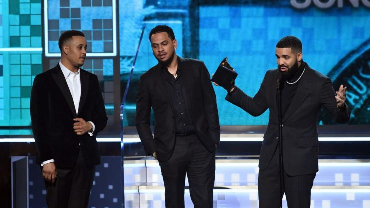 Drake got cut off during Grammy speech after winning Best Rap Song
