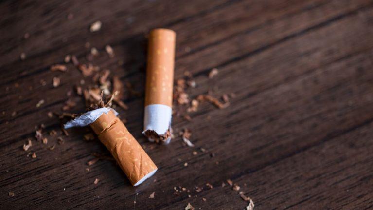 Cigarette butts make up half of Ireland's litter