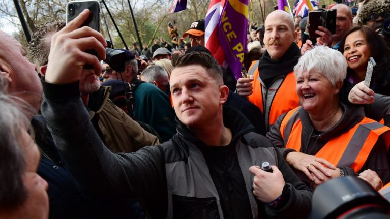 Facebook have permanently banned Tommy Robinson's page