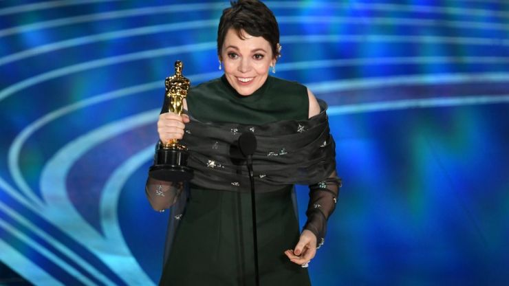 Olivia Colman won Best Actress for The Favourite and her speech was fantastic