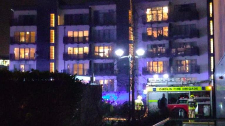 Fire Brigade battling underground blaze at apartment complex in Santry, Dublin