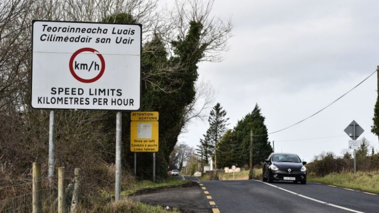 Sinn Féin councillor condemns recent bi-lingual road signs being vandalised in Ulster