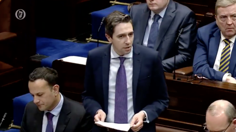 """I know you're used to gagging your opponents"". Harris doesn't hold back in comments about Sinn Féin"