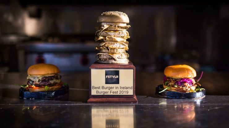 The best burger in Ireland has been revealed