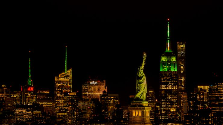 Tourism Ireland adds more global landmarks to Paddy's Day celebrations