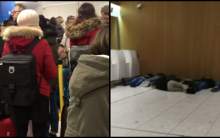 Ryanair and Dublin Airport release statements as hundreds of passengers endure overnight delays
