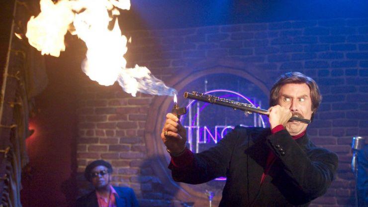 WATCH: Ron Burgundy challenged one of 2019's biggest pop stars to a jazz flute challenge