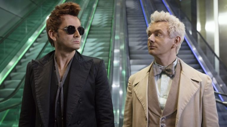 WATCH: All-star cast in heaven and hell have to stop Armageddon in hilarious new series Good Omens
