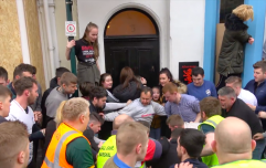 WATCH: There was serious violence and fights during the Atherstone Ball Game this week