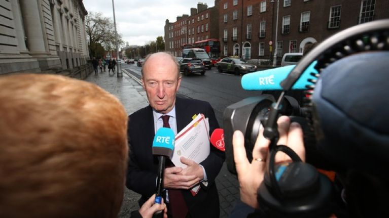 "Shane Ross apologises for referring to Sinn Féin TD as a ""donkey"""