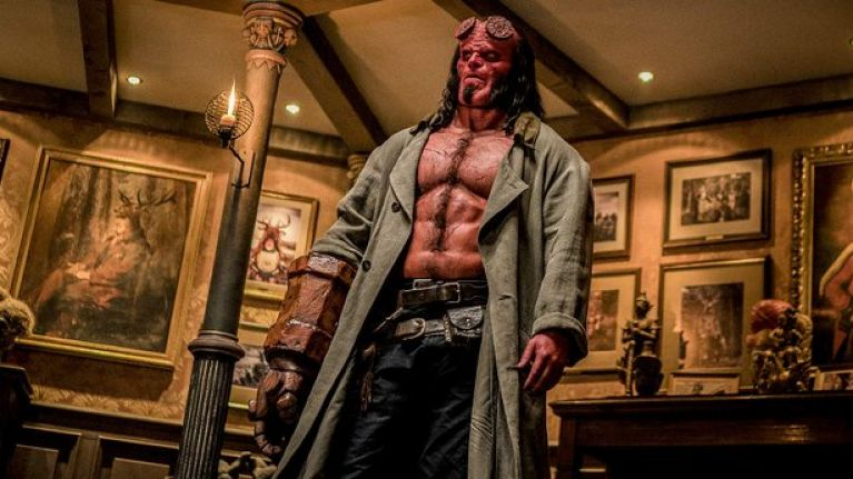 #TRAILERCHEST: The latest look at Hellboy goes all in on the 'adults only' vibe
