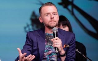 PIC: Simon Pegg shows off dramatic body transformation for new film