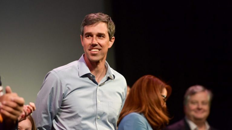 Democrat of Irish descent, Beto O'Rourke, to run for US Presidency in 2020