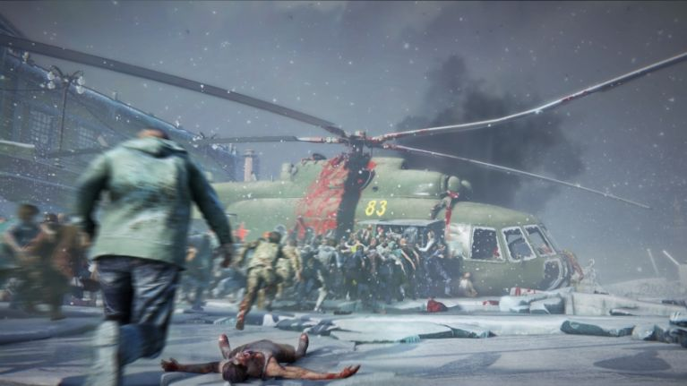 WATCH: New footage from the new World War Z game looks absolutely bonkers
