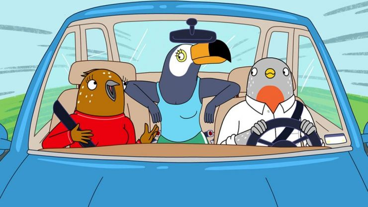 WATCH: Fans of BoJack Horseman need to check out the trailer for Netflix's new show Tuca & Bertie