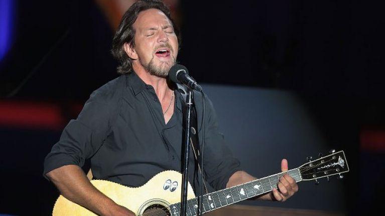 Eddie Vedder announces Dublin show
