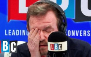 WATCH: James O'Brien enters 'total despair' mode after caller's latest dumb idea to solve Irish border