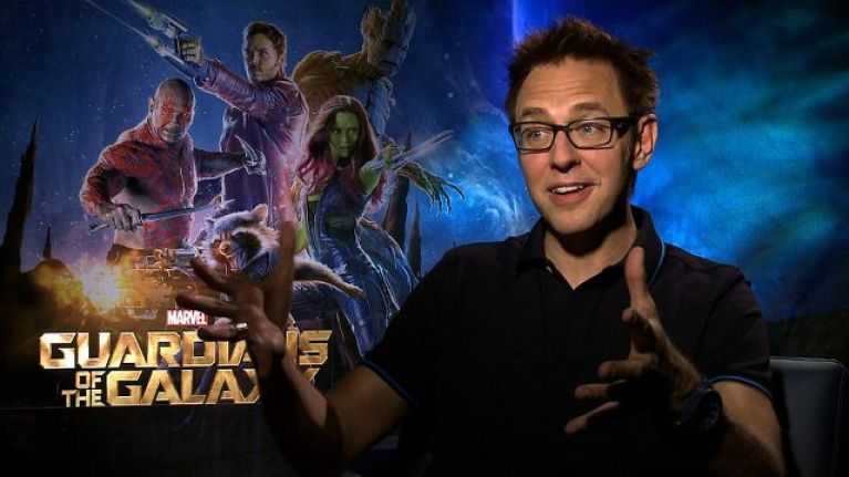 Image result for james gunn guardians of the galaxy