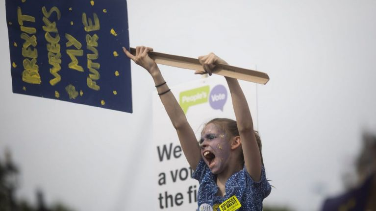 Three-quarters of young people in the UK would vote Remain in second referendum