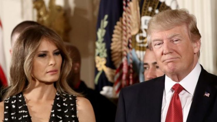 Donald Trump has finally responded to claims that his wife has a body double