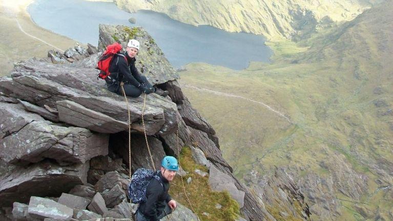 Climbing The Howling Ridge, Carrauntoohil's hidden gem