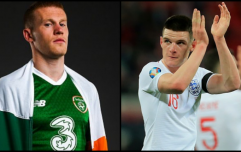 James McClean has offered his views on Declan Rice deciding to play for England