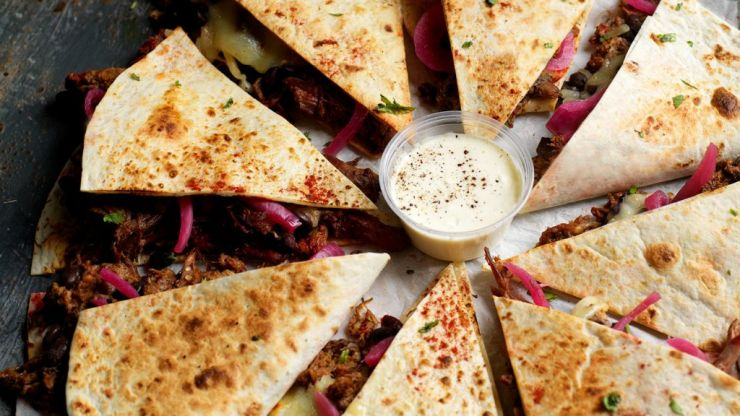 Hungry? We have 25 vouchers to give away for Boojum's new Quesadillas